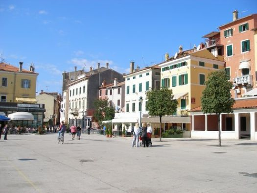 privaten Appartements in Rovinj Kroatien