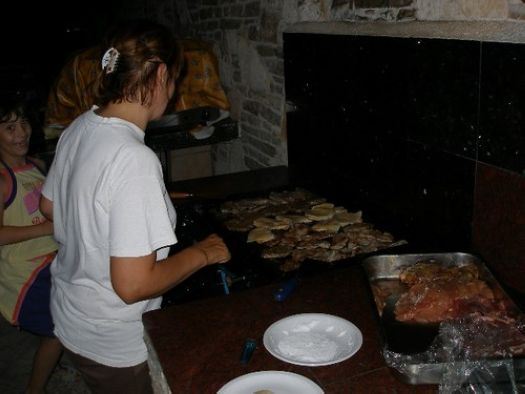 Barbecue in Rovinj